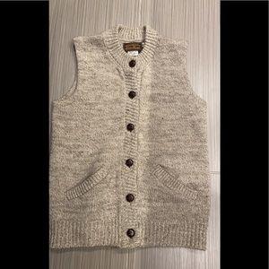 Vintage Eddie Bauer 100% Wool Vest